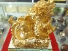 Rồng vàng ôm hồ lô Y229