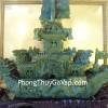 Thuyền rồng đá Lam Ngọc K041