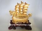 Thuyền buồm rồng vàng H448G