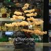 Cây phong thủy luân thạch anh vàng lớn KC035