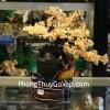 Cây phong thủy luân thạch anh vàng KC036