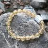 Chuỗi đá thạch anh tóc vàng A+ Uruguay 8li 21bi S6226-S5-2470