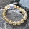 Chuỗi đá thạch anh tóc vàng A+ Uruguay 12li 18bi S6226-S5-3577