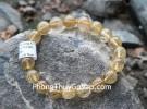 Chuỗi đá thạch anh tóc vàng A+ Uruguay 12li 19bi S6226-S5-3793