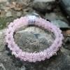 Chuỗi đá thạch anh hồng nhiều hạt S6307