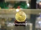 Quả cầu thạch anh vàng GM150-S5-2867