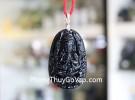 Phật bản mệnh đá hắc ngà – Tý ( Thiên Thủ Thiên Nhãn ) S6340-1