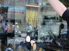 Chuông gió 12 ống nhôm vàng CG1222