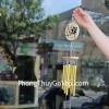 Chuông gió 8 ống nhôm vàng CG1253