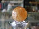 Quả cầu thạch anh vàng non M191-S5-899