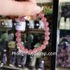 Chuỗi thạch anh hồng dâu đỏ Uruguay A+ S6359–S5-1540