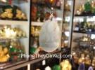 Phật bản mệnh phỉ thúy tuổi Sửu + Dần ( Hư Không Tạng Bồ Tát ) S6508-2