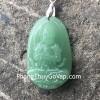Phật đá ngọc đông linh tuổi Mùi + Thân ( Như Lai Đại Nhật ) S6338-6