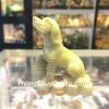 Tượng chó cẩm thạch onyx xanh CCTX