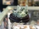 Bông thạch anh ưu linh xanh H101- 9564