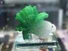 Bắp cải xanh nhỏ đế thuỷ tinh  C169A