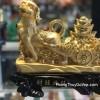Chó vàng kéo xe vàng tài vượng C023A