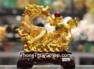 Rồng vàng phun châu như ý  C076A