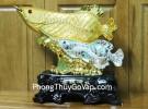 Cá kim long vàng bạc C090A