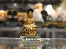 Phật quan âm vàng đế thủy tinh nhỏ C139A