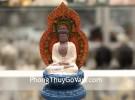 Phật tổ thích ca ngồi trên đế sen C140A