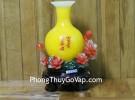 Bình ngọc vàng trên hoa mẫu đơn C172A