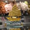 Thuyền buồm vàng bạch kim đế thuỷ tinh lớn C189A