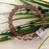 Chuỗi thạch anh hồng dâu đỏ Uruguay A+ S6359–S5-1325