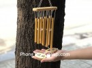 Chuông gió 8 ống nhôm vàng – CG1256