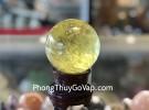 Quả cầu thạch anh vàng xịn (658 Gram) GM194-S5-13838