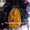 Phật bản mệnh đá mắt mèo trung – Ngọ ( Đại Thế Chí Bồ Tát) S6842-5