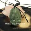 Phật bản mệnh Phỉ Thúy xanh đậm sắc sảo A+ nhỏ (Tuất + Hợi) S6865-8