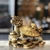 Rùa đầu rồng cõng con có chữ D309