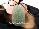Phật bản mệnh Phỉ Thúy xanh đậm sắc sảo A+ nhỏ (Tý) S6865-1