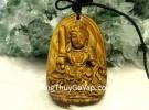 Phật bản mệnh đá mắt mèo – Mão ( Văn Thù Bồ Tát ) S6842-3
