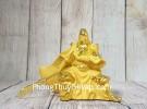 Đức quan công vàng kim sa bóng toạ sơn vung siêu (đao dài) nhỏ LN197