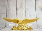 Thần chim đại bàng vàng kim sa bóng tung cánh trên mây vàng – Đại Triển Hồng Đồ LN218