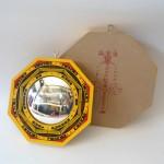bat quai go son vang loi 6in K1210 01 150x150 Bát quái gỗ sơn vàng lồi K1210