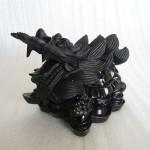 HM078 3 150x150 Rùa đầu rồng đá Hắc Ngà HM078