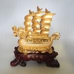 H448G.1 150x150 Thuyền buồm rồng vàng H448G