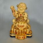 K015M 150x150 Khỉ vàng hũ tài lộc K015M