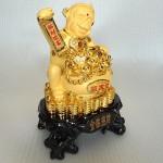 K016M 1 150x150 Khỉ hũ tiền vàng K016M
