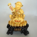 K016M 150x150 Khỉ hũ tiền vàng K016M