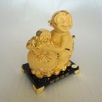 K054M 1 150x150 Khỉ tài lộc ôm túi vàng K054M