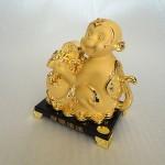 K054M 2 150x150 Khỉ tài lộc ôm túi vàng K054M