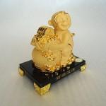 K064M 1 150x150 Khỉ tài lộc ôm túi vàng K064M