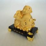 K064M 2 150x150 Khỉ tài lộc ôm túi vàng K064M
