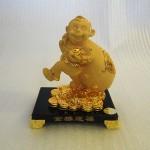 K065M 150x150 Khỉ thần tài kéo túi vàng K065M