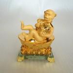 K069M 150x150 Khỉ thần tài ôm như ý vàng K069M