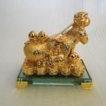 K078M 150x150 Khỉ may mắn kéo túi vàng K078M